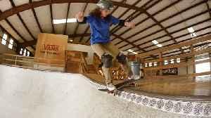 15-Year-Old Skateboarder Jordan Santana Is Going for Olympic Gld [Video]