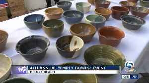 4th annual 'Empty Bowls' event held in Delray Beach [Video]