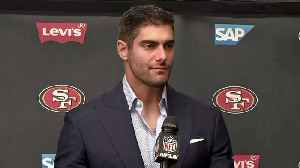 49ers Post Game: Quarterback Jimmy Garoppolo [Video]