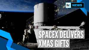 News video: SpaceX's Dragon delivers Christmas gifts to International Space Station
