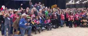 Rascal Rodeo for people with special needs is held in Las Vegas for the first time [Video]