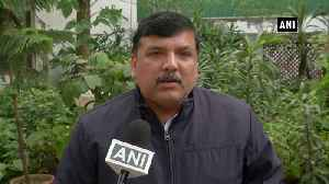 AAP Sanjay Singh questions BJP run MCD over Delhi factory fire [Video]