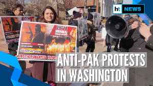 Watch: Protests against Pakistan sponsored terrorism in Washington [Video]