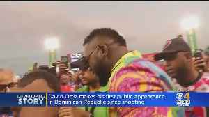 David Ortiz Makes First Public Appearance In Dominican Republic Since Shooting [Video]