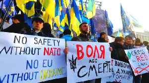 'No capitulation': Ukrainians rally before Russia summit [Video]