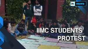 IIMC students protest against fee revision, admin says 'will look into demands' [Video]