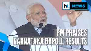 News video: PM Modi hails Karnataka bypoll results, says, 'It proves country's trust in BJP'