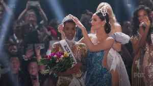 Miss South Africa wins Miss Universe competition [Video]