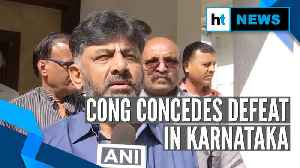 News video: Karnataka by-polls counting: Congress accepts defeat, BJP govt survives