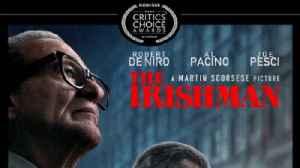 'The Irishman' leads Critics Choice Awards Nominations [Video]