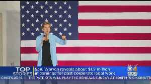 Elizabeth Warren Was Paid At Least $1.9M For Past Legal Work [Video]