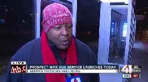 Prospect MAX bus service launches Monday [Video]