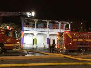 News video: Building catches fire in downtown Las Vegas