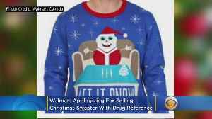 Walmart Apologizes For Selling Christmas Sweater With Drug Reference [Video]