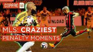 Craziest Penalty Moments | 25 Years of MLS 🇺🇸 [Video]