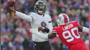 Ravens Clinch Playoff Spot With 24-17 Win Over Bills [Video]