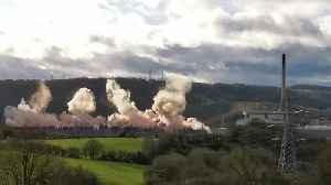 Ironbridge Power Station Demolition [Video]
