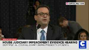 Latest Impeachment Hearing's Dueling Narratives: 'Clear and Present Danger' or 'Baloney' [Video]