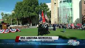 UArizona Naval ROTC hosts 5K race to remember Sailors and Marines killed on USS Arizona [Video]