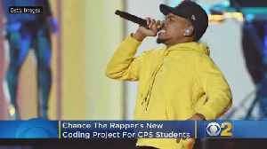 Chance The Rapper's New Coding Project For CPS Students [Video]