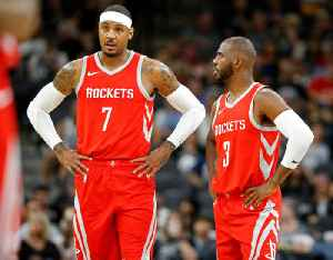 Carmelo Anthony Told Chris Paul 'Just Be Careful' After Leaving Rockets [Video]