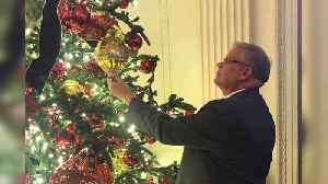 Alabama Veteran Shares Experience Decking the Halls of the White House for Christmas [Video]