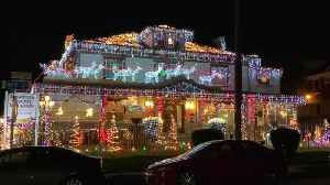 Forward House lights up the holidays in Bankers Hill [Video]
