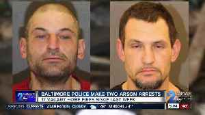 Second suspect arrested in rash of arson fires in Southwest Baltimore [Video]