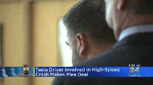 Tesla Driver Involved In High-Speed Crash Avoids Prison After Making Plea Deal [Video]