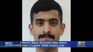Sources: Naval Base Shooting Suspect May Have Been Involved In Dispute With Instructor [Video]