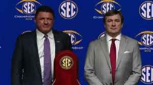 SEC Title Game Media Session [Video]