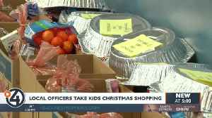 Local officers take kids Christmas shopping [Video]