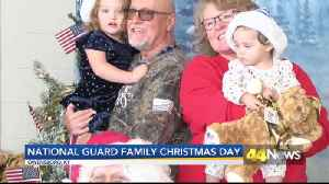 Family Christmas Day for Kentucky National Guard [Video]