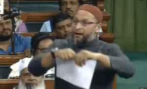 Asaduddin Owaisi tears up copy of CAB in Lok Sabha | OneIndia News [Video]