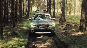 New Subaru Forester ECO HYBRID Technology [Video]