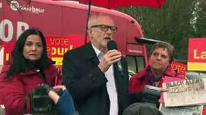 Corbyn speaks alongside local Labour candidates in Bolton [Video]