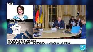 Ukraine summit: Putin, Zelensky meet for first time at Paris peace talks [Video]