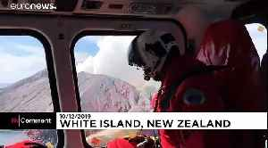 New Zealand volcano eruption: Rescue workers search for those missing after blast on White Island [Video]