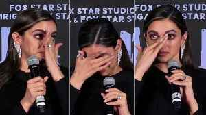 UNCUT - Deepika breaks down at Chhapaak Trailer Launch [Video]