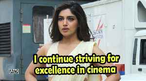 Bhumi Pednekar: I continue striving for excellence in cinema [Video]