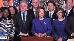 Pelosi Announces Agreement With Trump Admin On USMCA Trade Deal [Video]
