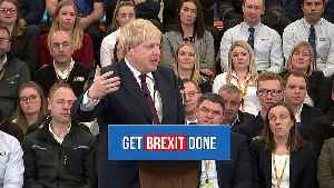 Johnson blasts Corbyn during a campaign speech [Video]