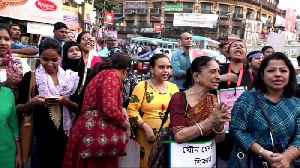 Protesters gather in Kolkata to demand justice following deadly rape cases in India [Video]