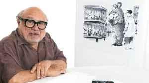 How to Write a New Yorker Cartoon Caption: Danny DeVito Edition [Video]