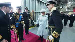 New aircraft carrier commissioned by royal couple [Video]