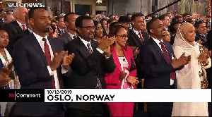Ethiopia PM Abiy Ahmed receives Nobel Peace Prize