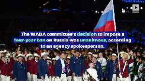 Russia Receives Four-Year Ban From Olympics Over Doping [Video]