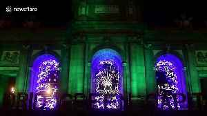 A lovely look at Christmas lights in Madrid [Video]