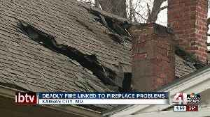 Deadly house fire linked to fireplace problems [Video]