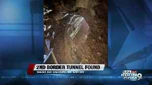 Border Patrol discovers 2nd Nogales border tunnel in a week [Video]